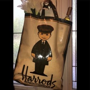Harrods shopping tote
